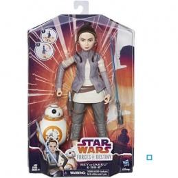 Poupée Star Wars Rey BB-8