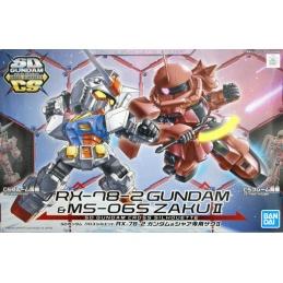 Gundam Gunpla SD RX-78-2 &...